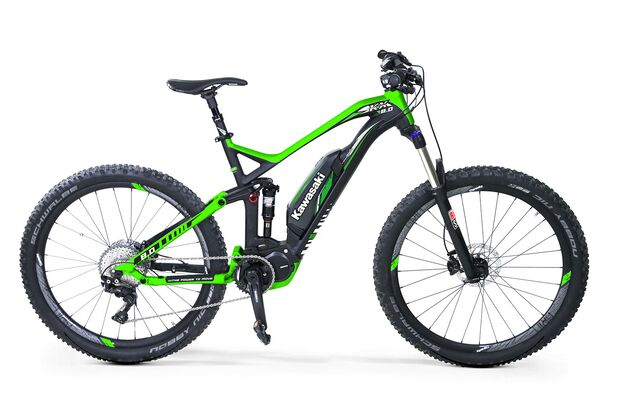 UB Kawasaki KSX 8.0 Full suspension